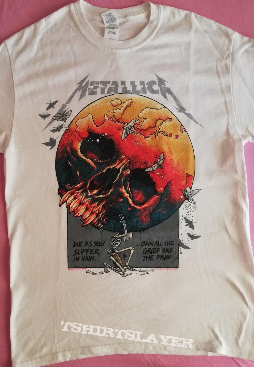 "Metallica - ""Europe Awakens 2019"" official tour shirt"