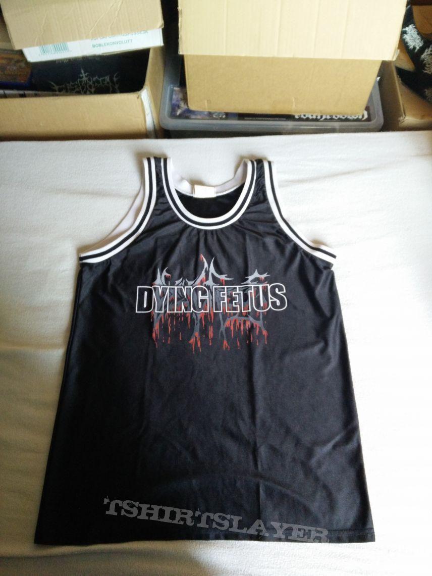Dying Fetus Basketball Jersey
