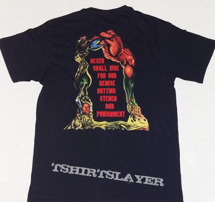 "49. Cancer ""Death Shall Rise"" T-shirt"