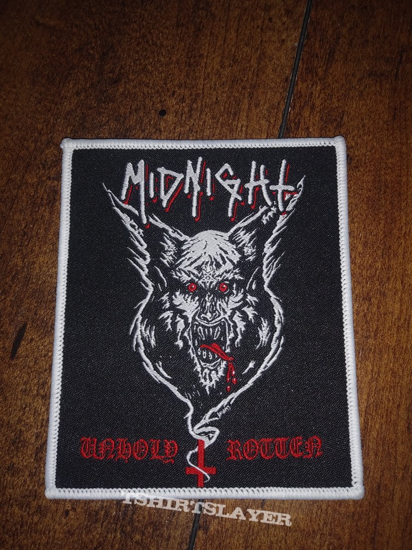 W.G.A.F? Backpatch and Unholy & Rotten patch