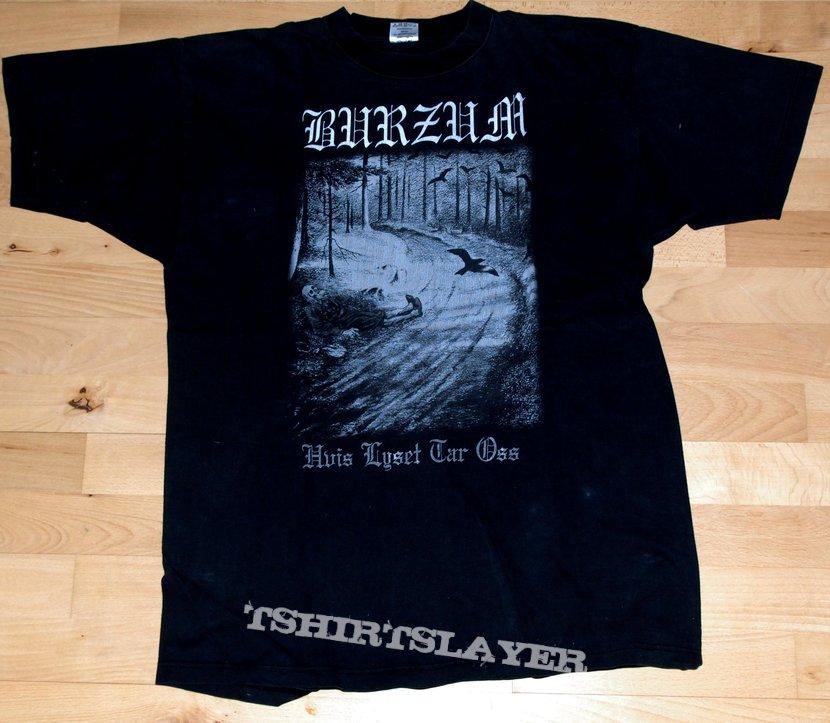 "Burzum ""Hvis Lyset Tar Oss"" Tshirt xl"