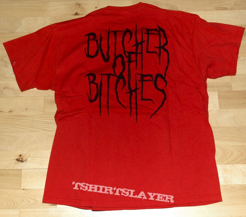 "Debauchery "" Butcher of Bitches"" Tshirt xl"