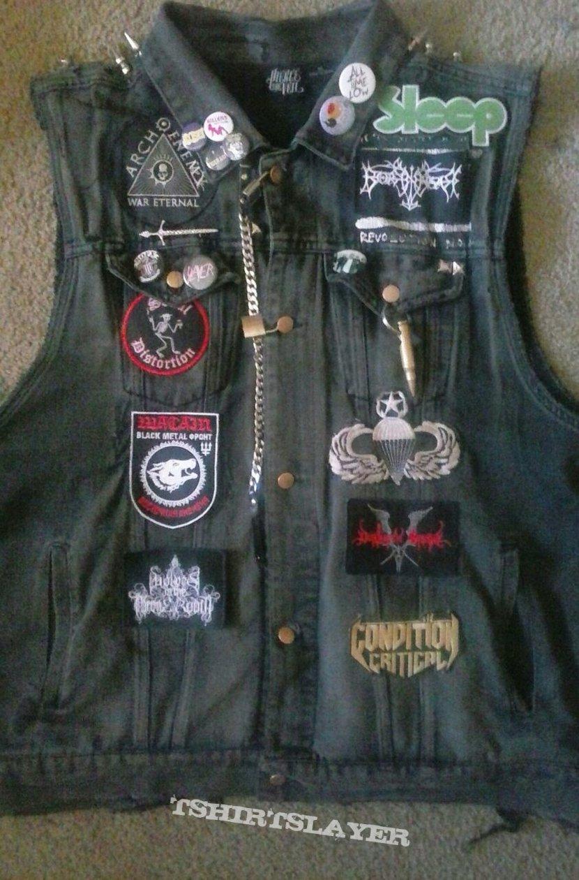 Denim Battle Jacket