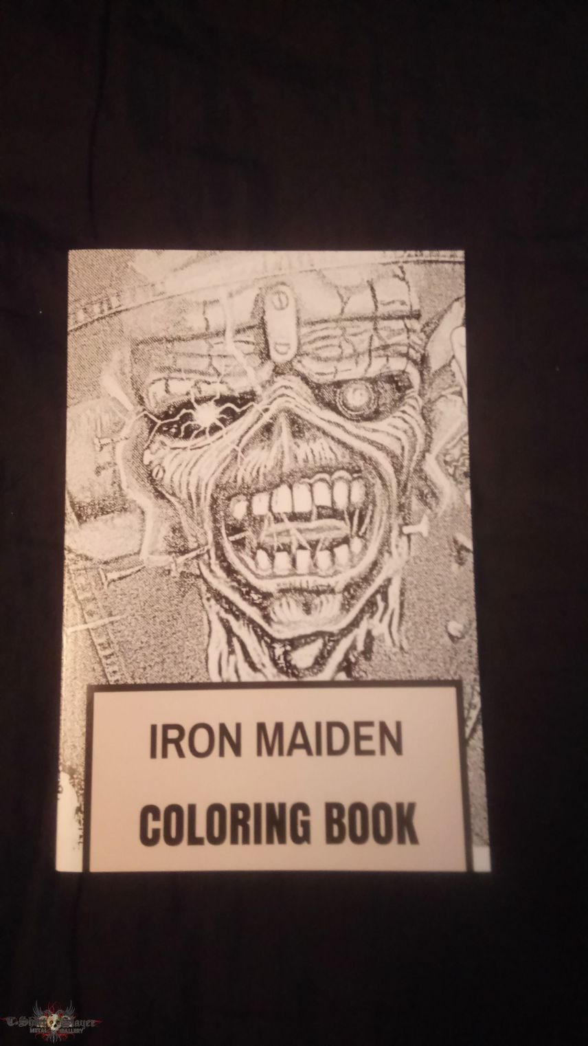 Iron Maiden Coloring book | TShirtSlayer TShirt and ...