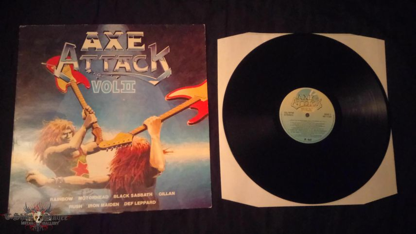 Axe Attack Vol II LP
