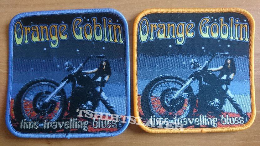Official Orange Goblin Time Travelling Blues Woven Patch