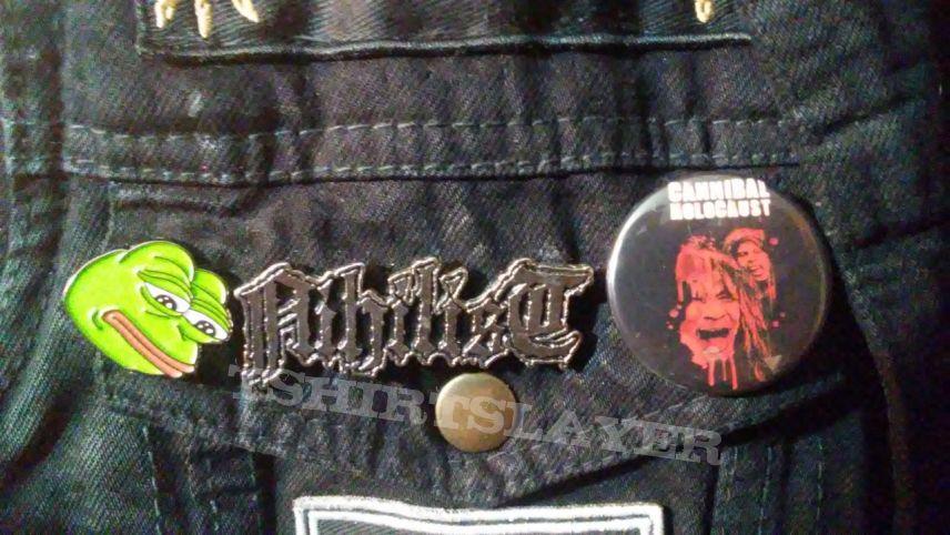 Autographed Black Metal Beast