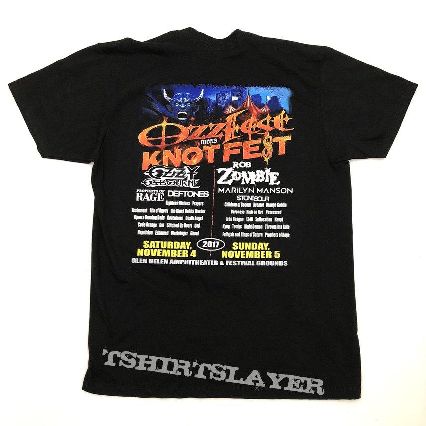 2017 Ozzfest Meets Knotfest shirt