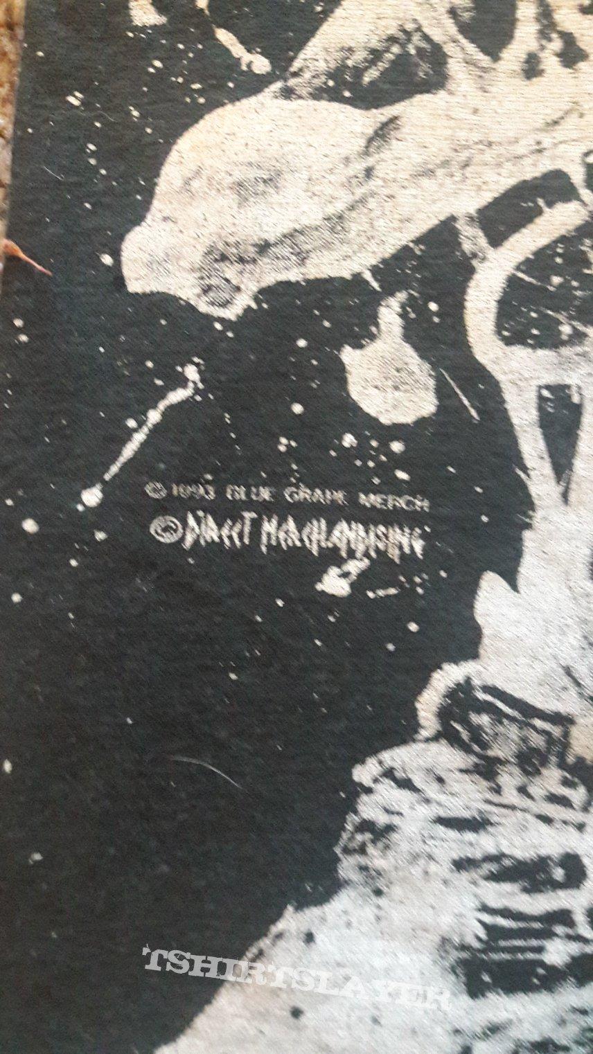 Vintage rare Cannibal Corpse allover shirt