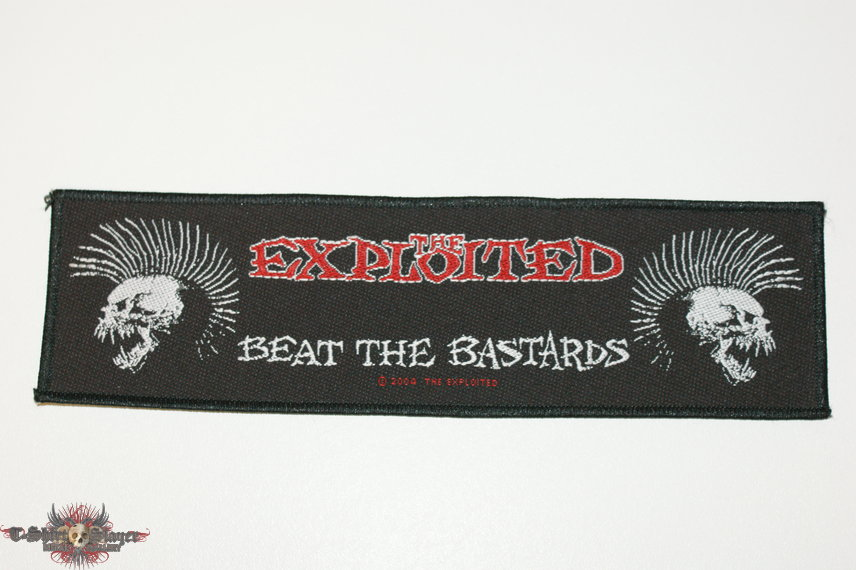The Exploited Beat the Bastards  Large patch