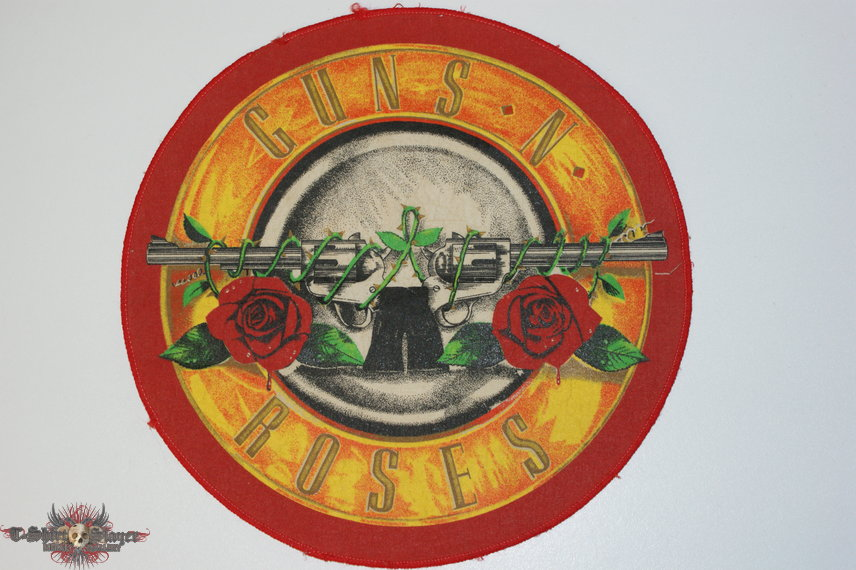 Guns N Roses back patch with red outer edge ( very rare )