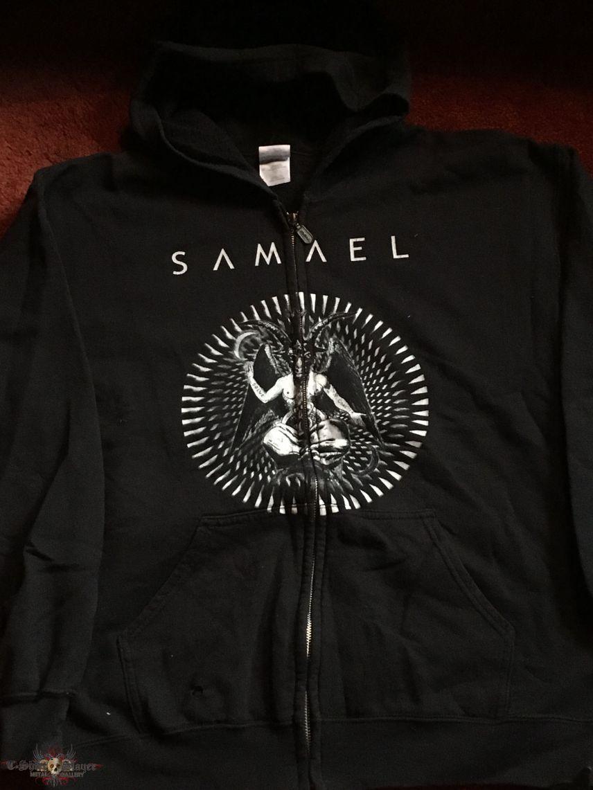 Samael - Static Journey (Zipped Hoodie) L