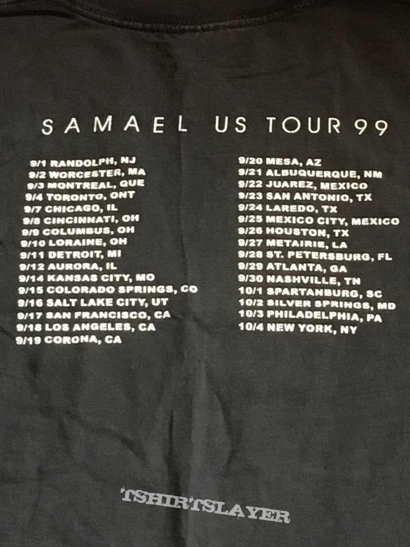 Samael - Eternal US Tour (LS) M