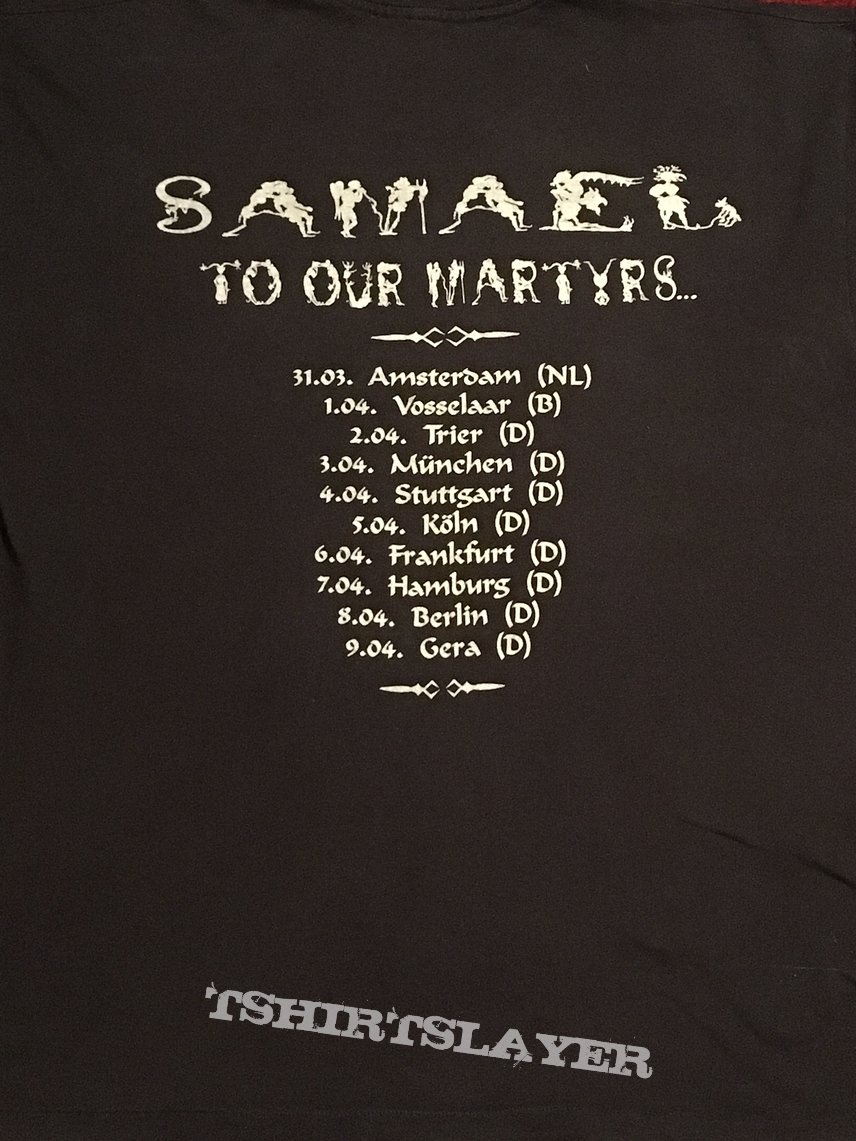 Samael - To Our Martyrs (TS) L