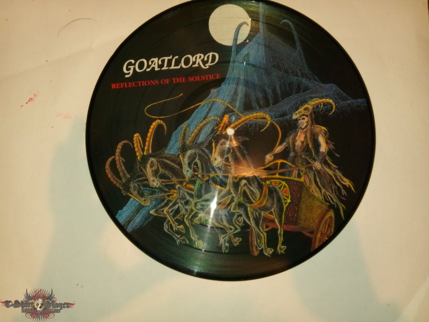 Reflections of the Solstice picture disc