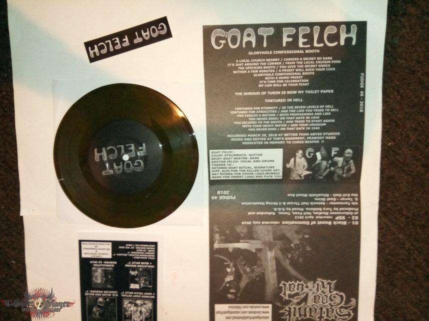 Goat felch / Satanik Goat Ritual split