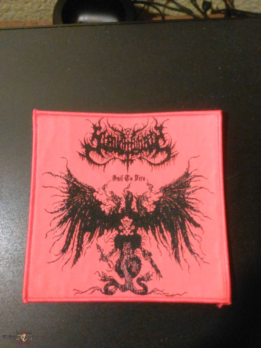 Slaughtbbath woven patch