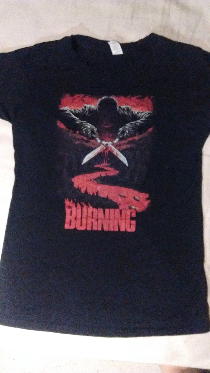 The Burning Girlie Shirt