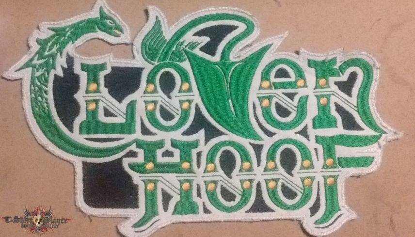 Cloven Hoof Custom Embroidered Back Patch