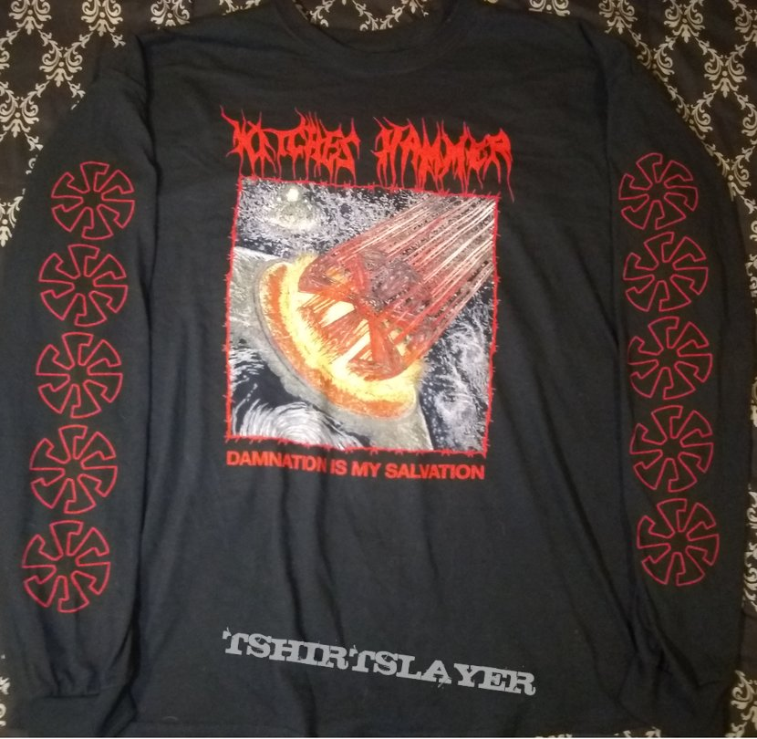 Witches Hammer - Damnation Is My Salvation Longsleeve