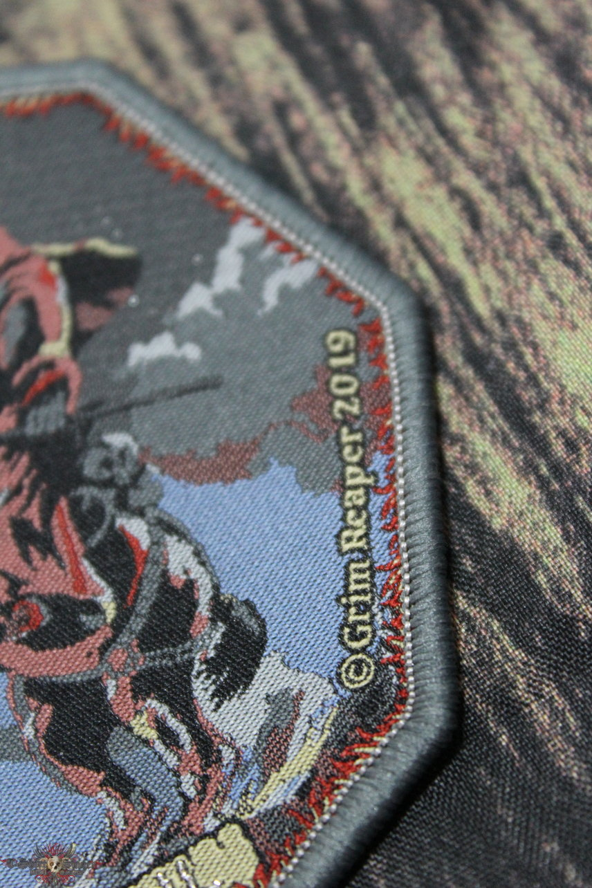 Grim Reaper Woven Patch
