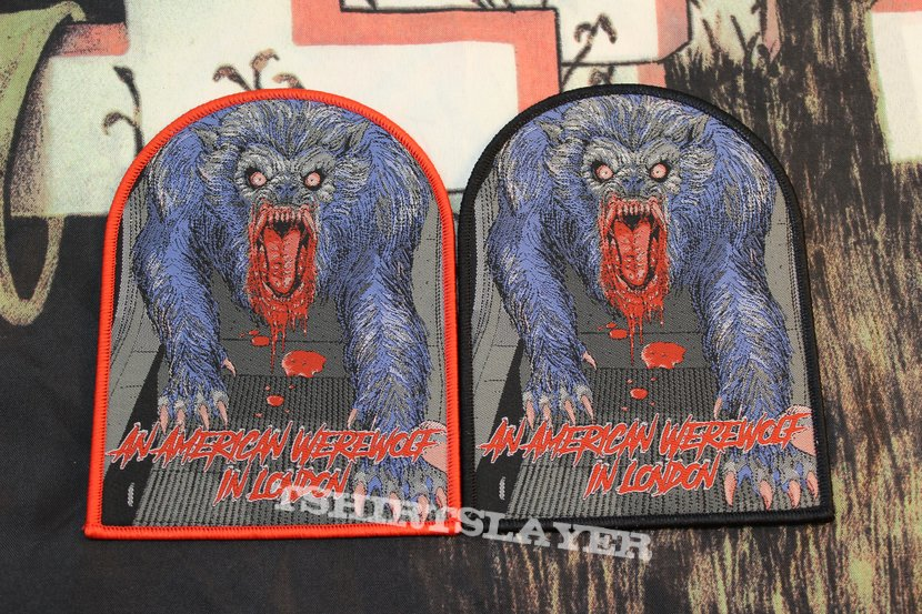 American Werewolf Woven Patches