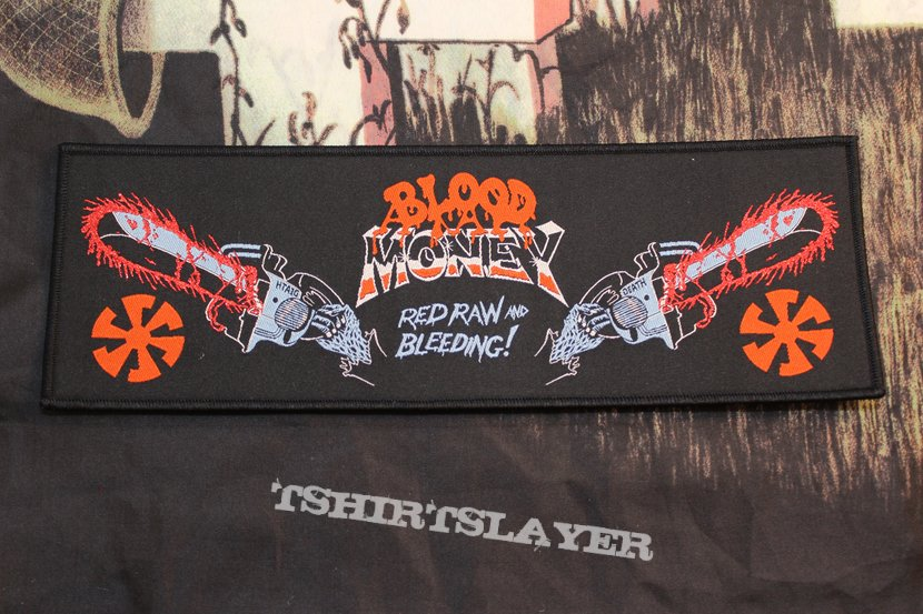 Blood Money - RRnB Official Woven Strip Patch