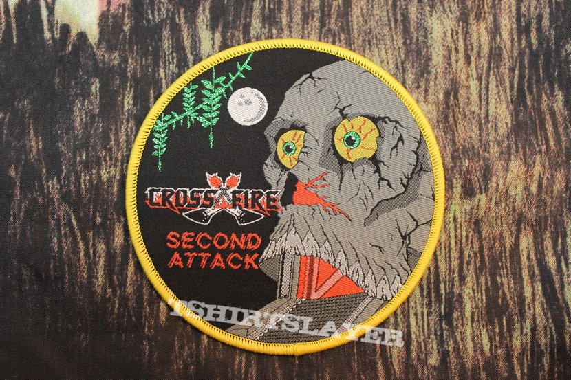 Crossfire - Second Attack Woven Patch
