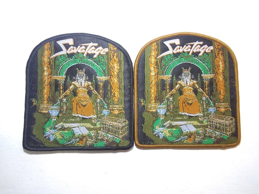 Savatage - Hall of the Mountain King Woven Patch