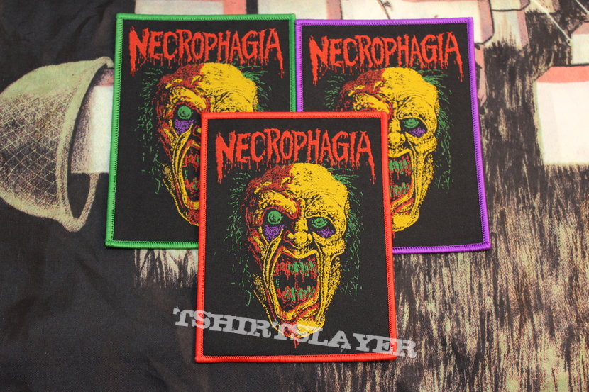 Official Necrophagia Woven Patch