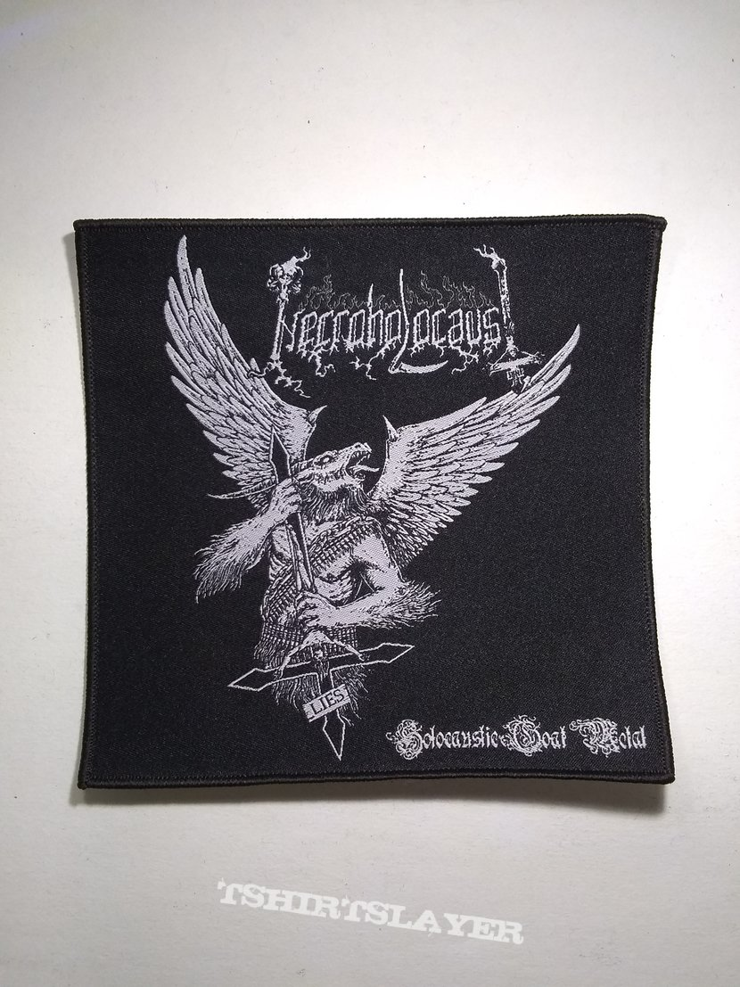 Necroholocaust Woven Patch