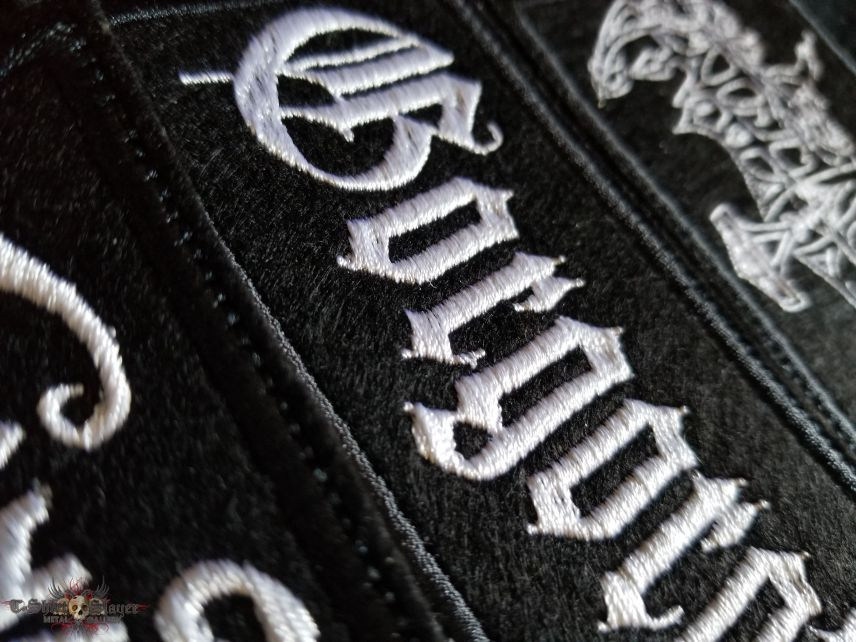 Black Metal patches from KoloS