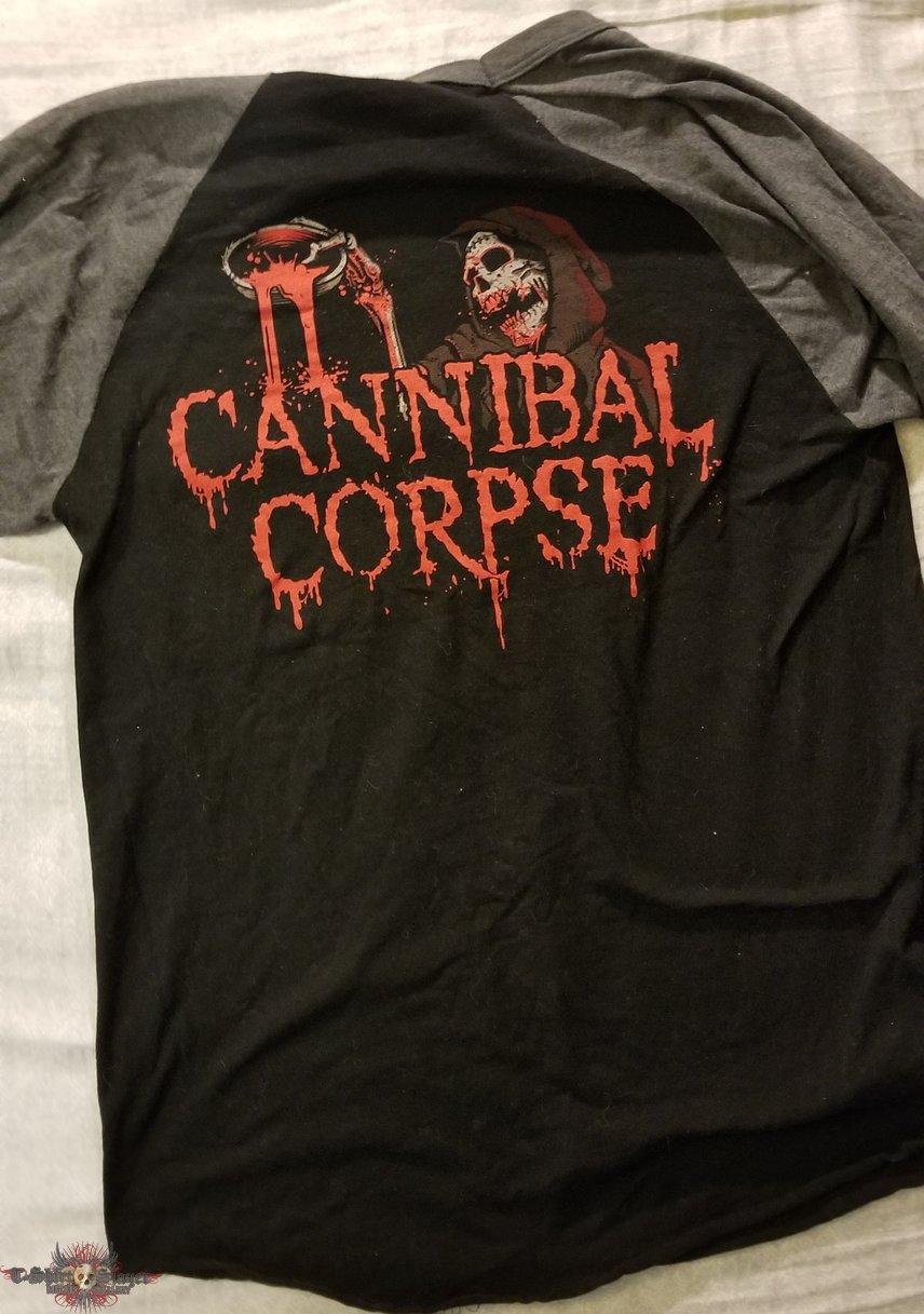 Cannibal Corpse Baseball Tee