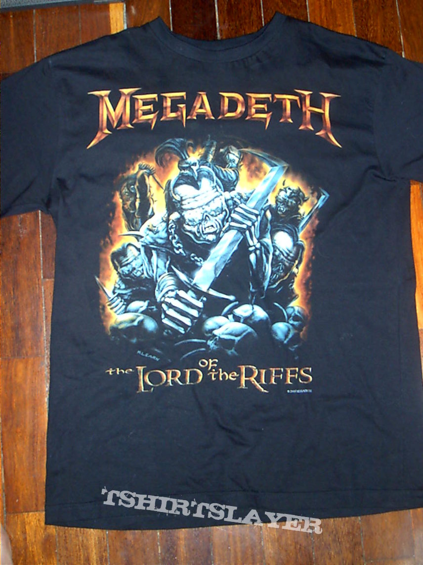Megadeth - The Lord of the Riffs