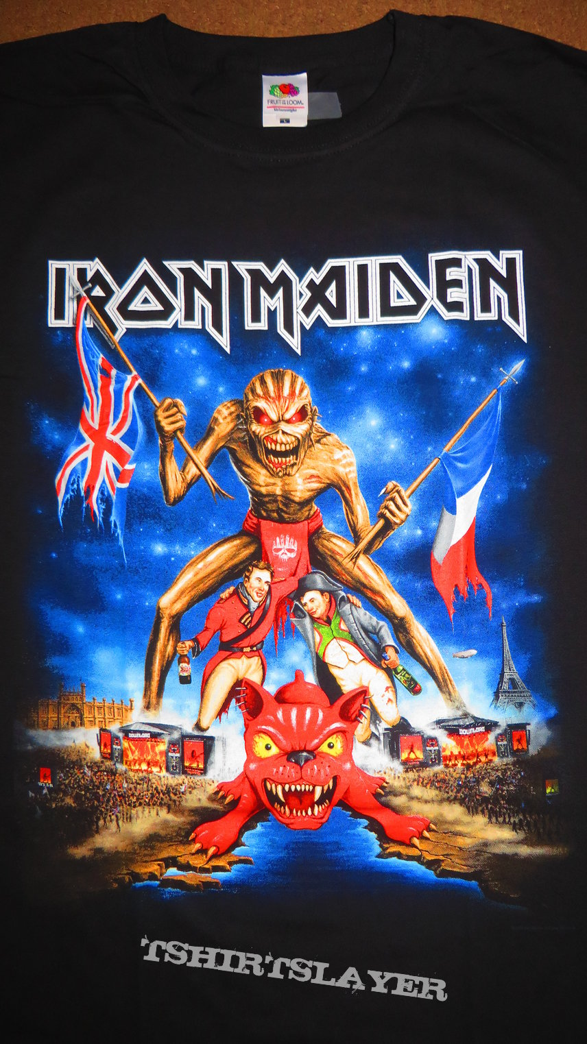 Iron Maiden Download Festival 2016 | TShirtSlayer TShirt and