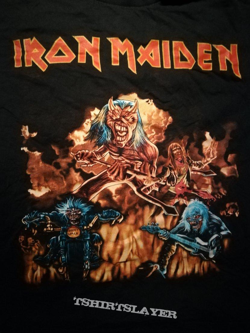 Iron Maiden Hallowed Be Thy Name Bootleg Shirt
