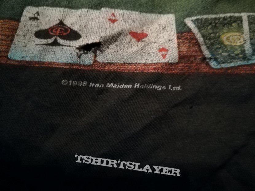 Iron Maiden Virtual XI World Tour Shirt 1998: The Angel and the Gamler
