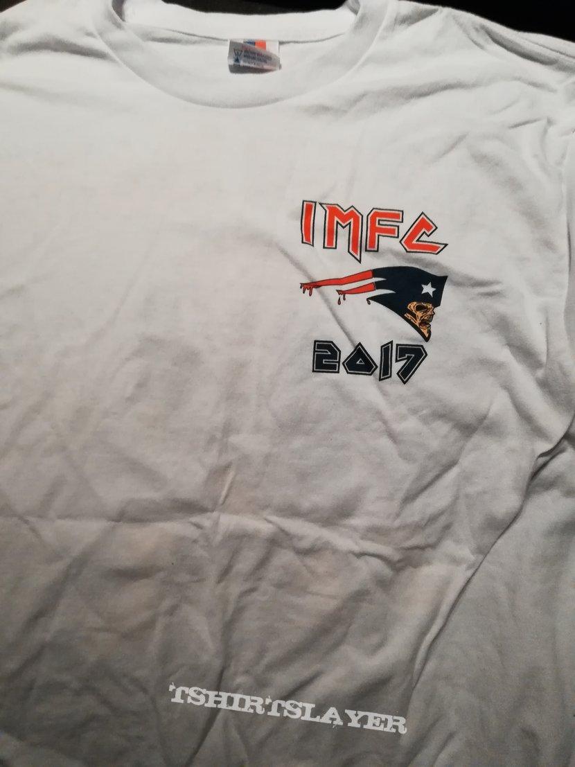 Iron Maiden Boston Fan Club Shirt 2017