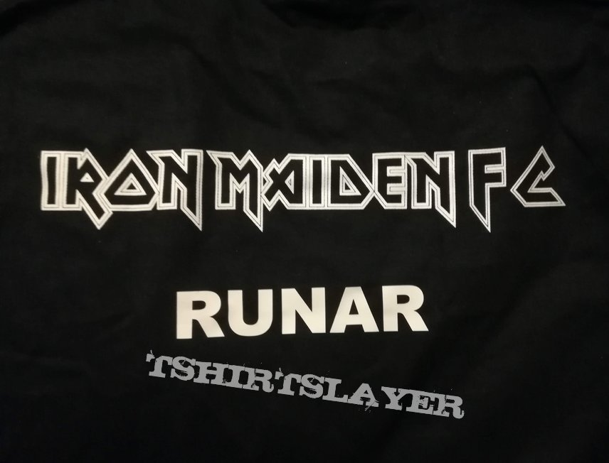 Iron Maiden The Book of Souls FC Personal Shirt 2018