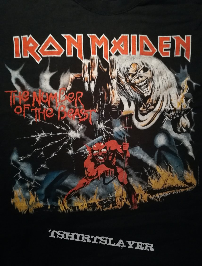 Iron Maiden The Number of the Beast Early Days Shirt 2005