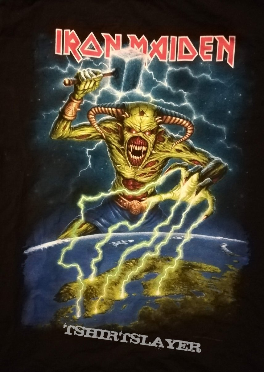 Iron Maiden Nordic Event Shirt 2018