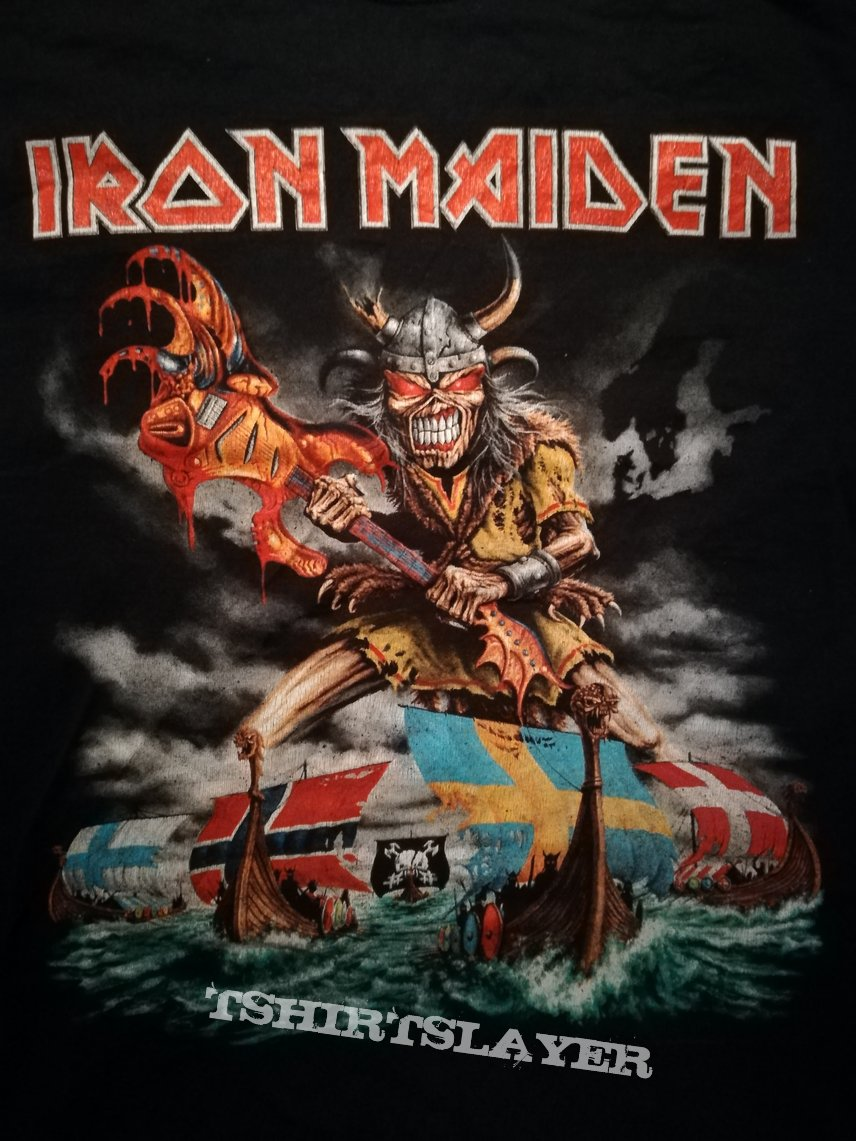 Iron Maiden The Final Frontier Nordic Event Shirt 2011