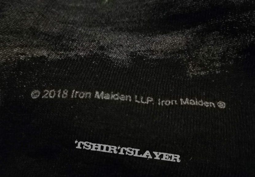 Iron Maiden France Event Shirt 2018
