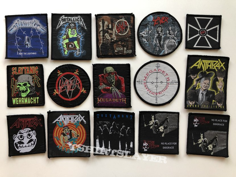 Vintage Patches in SEP