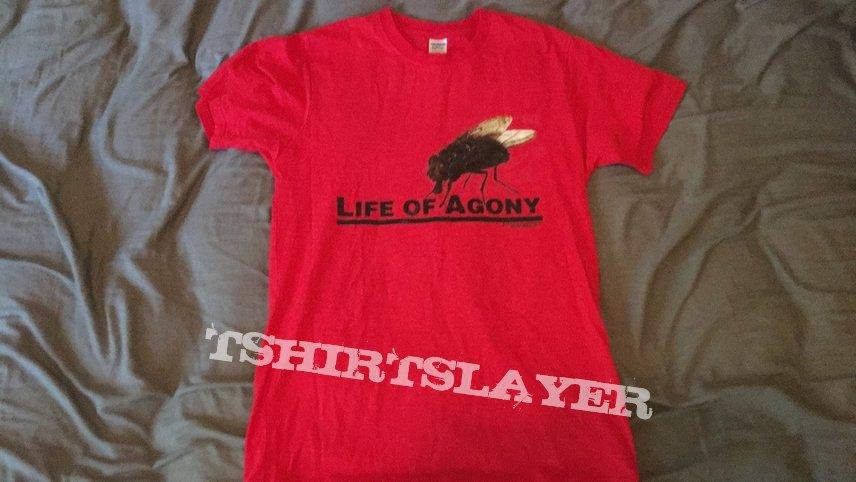 Life of Agony 'Fly' logo shirt