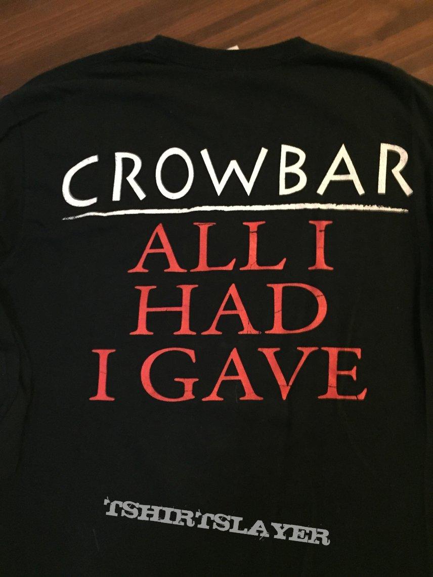 "Crowbar ""All I Had I Gave"" longsleeve"