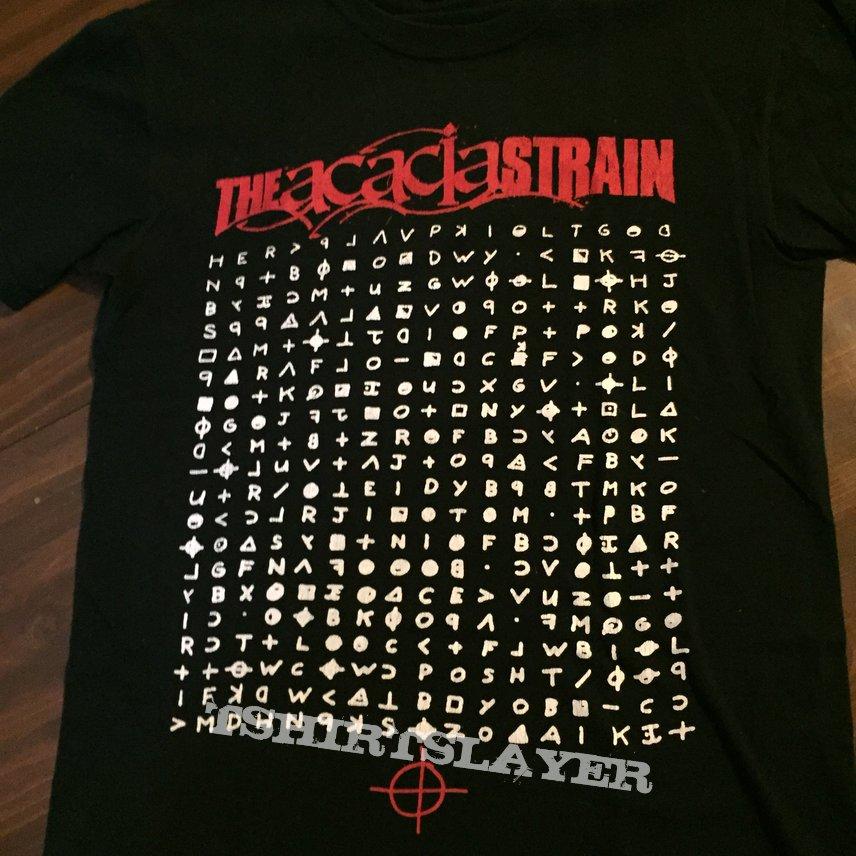 The Acacia Strain zodiac shirt