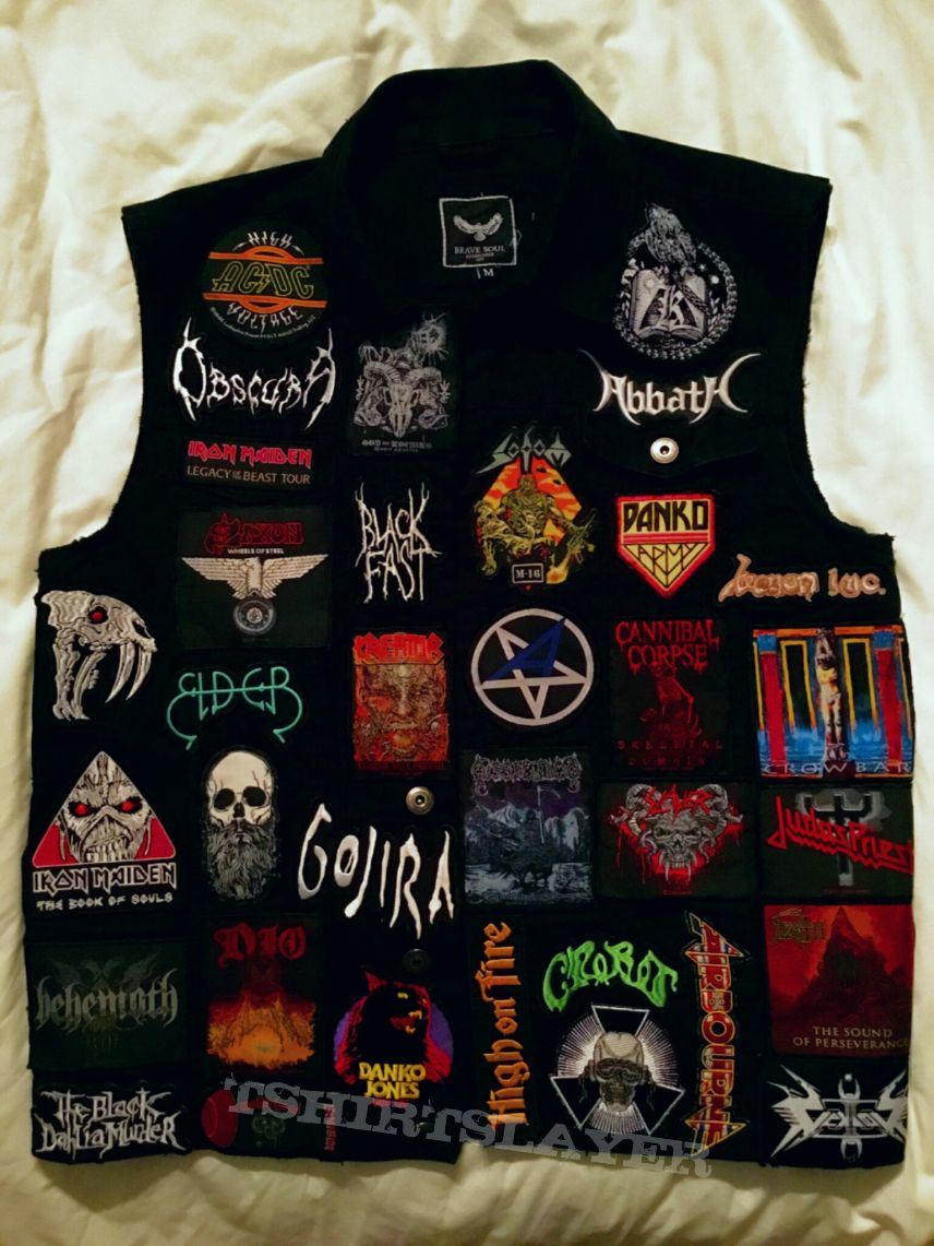 Finished general battle jacket
