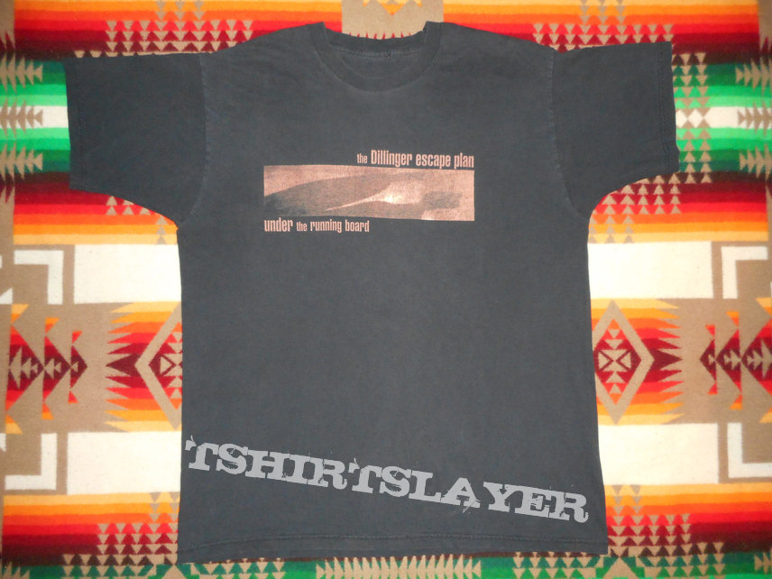 "1998 Dillinger Escape Plan ""Under the Running Board"" t-shirt"