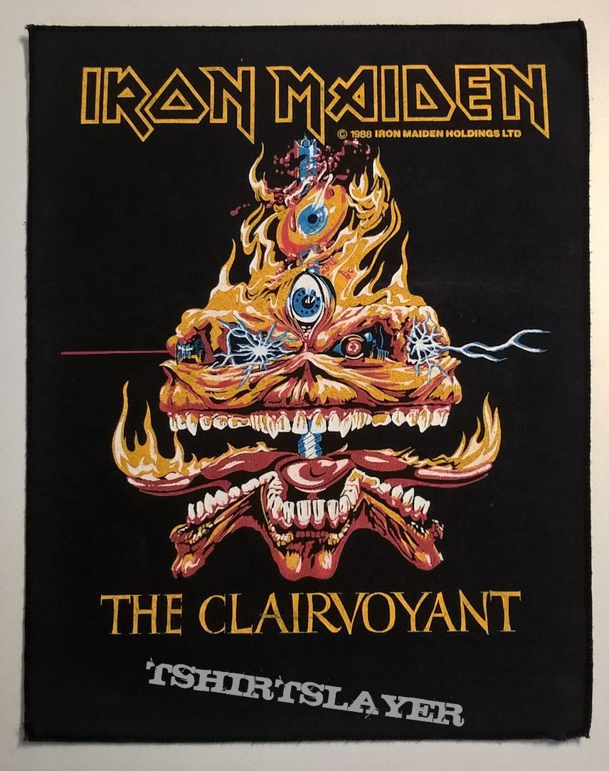 Iron Maiden - The Clairvoyant - Backpatch